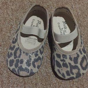 7667c7625766 Petit Nord Copenhagen Shoes - Petit Nord Copenhagen Leopard Ballerina Shoes